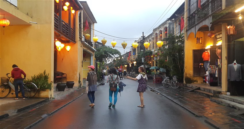 travel vietnam in rainy season