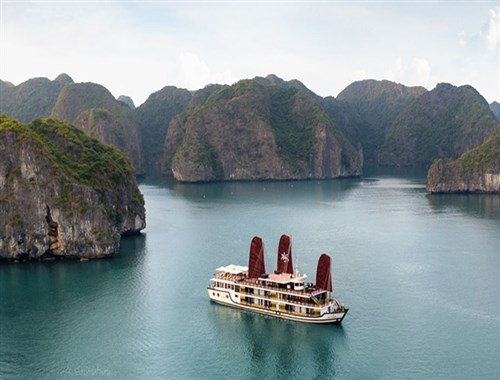 Orchid cruise explores Halong, Lan Ha and Bai Tu Long Bay