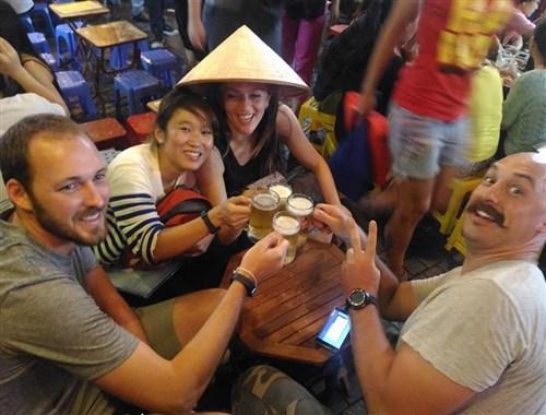 Amazing beer culture in Vietnam