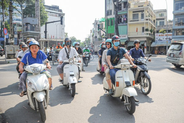 Getting from Ho Chi Minh City airport to town