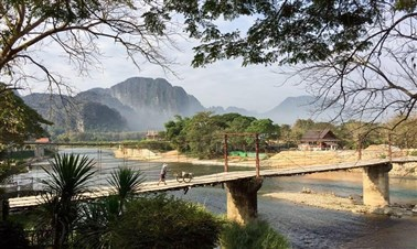 Trekking in Vang Vieng