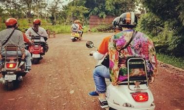 Vespa Food Tour In Siem Reap