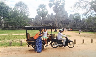 Visit Angkor Temples by Tuk Tuk