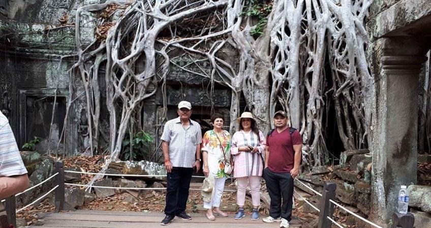 Ta Prohm temple vivutravel