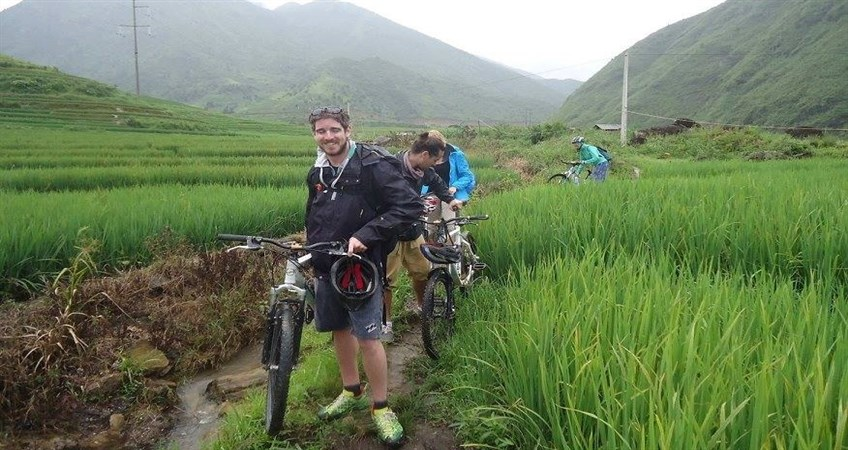 cycling tour in sapa