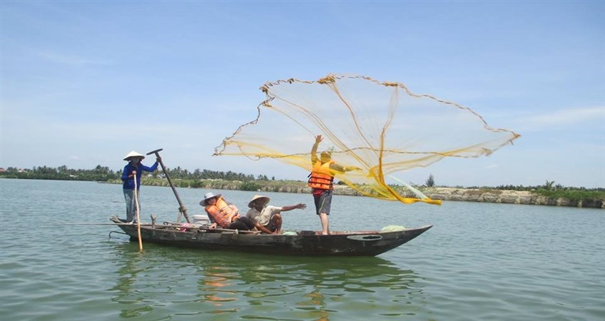 fishing tour in hoi an