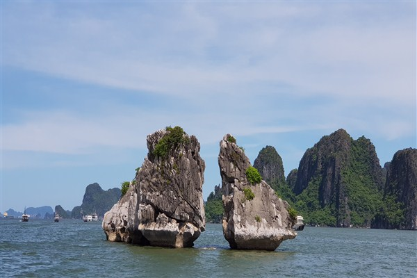 Tourists got abandoned in Halong Bay