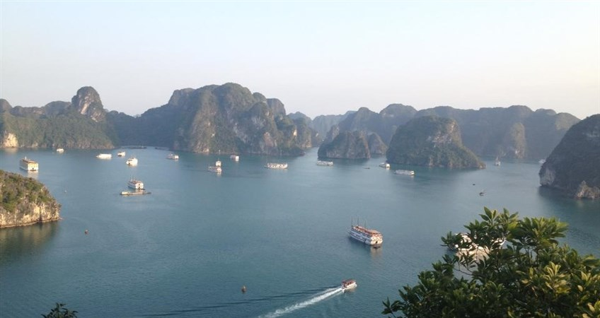 overnight on Halong Bay