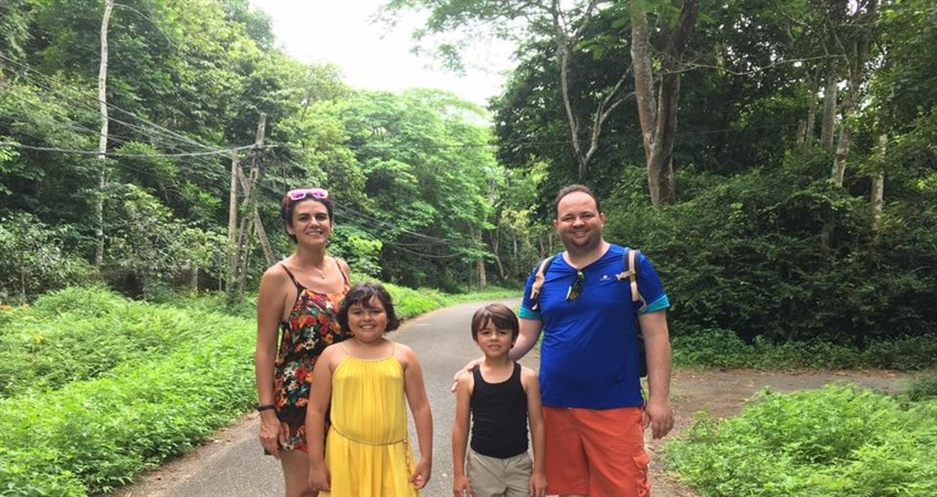 vietnam family tour at cuc phuong national park