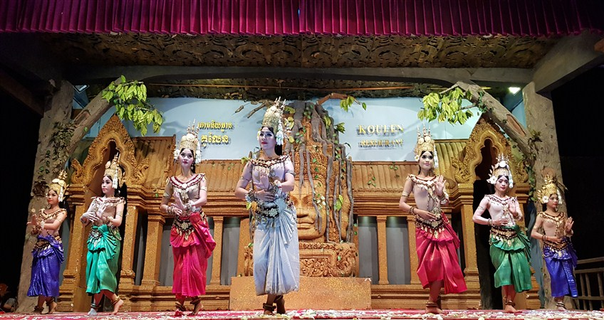apsara dance show in sieam reap