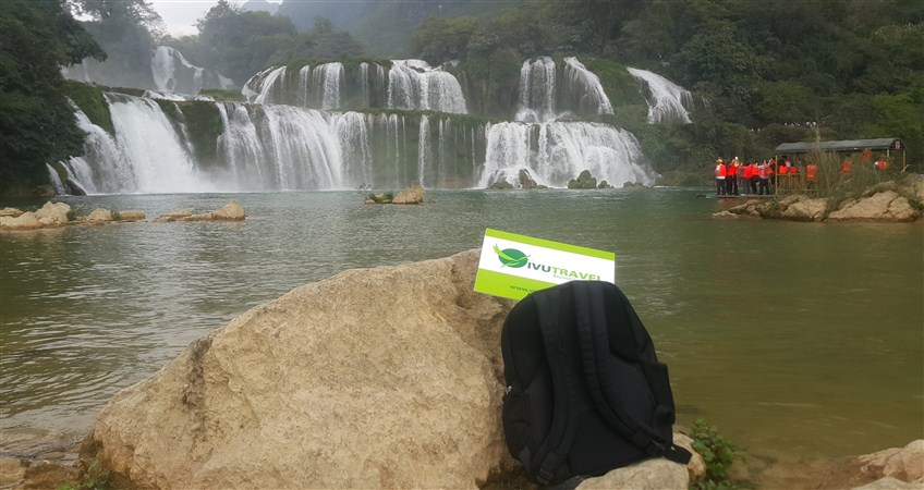 ban gioc waterfall tour with vivutravel