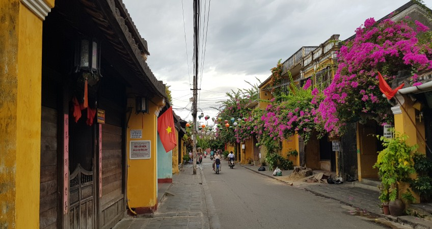 family tour in hoi an