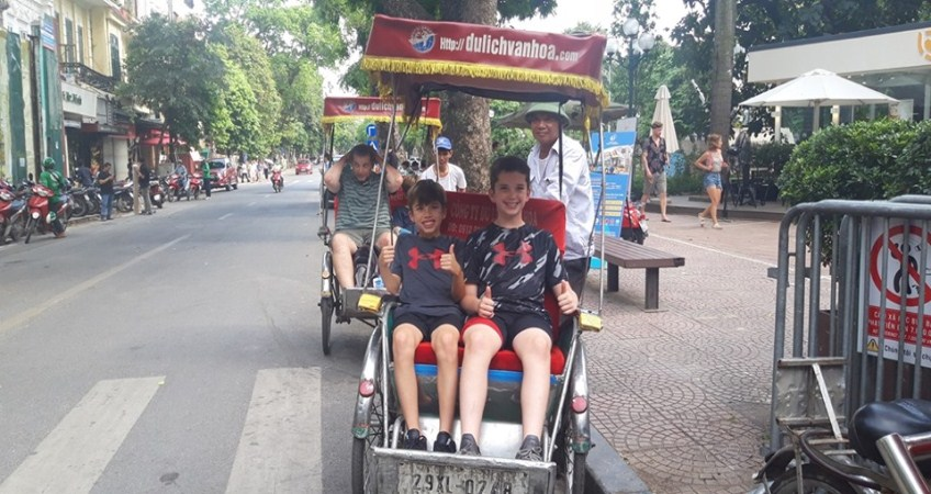 A wonderful family vacation in Vietnam