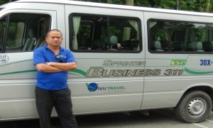 vivutravel driver and bus