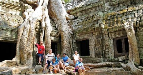 VCT13: Family Tour in Cambodia and Vietnam - 20 days from Siem Reap