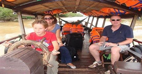 FIT01: Family Tour to explore Southern Vietnam & Cambodia - 12 days from Saigon