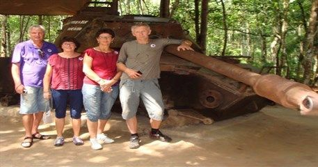 Vietnam tour to Cu Chi tunnels