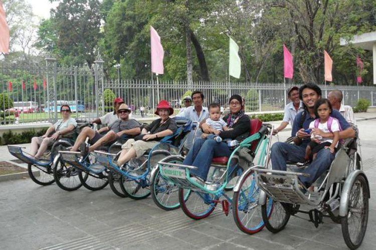 Cyclo – an original traveling vehicle in Sai Gon