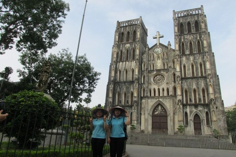 3 most beautiful churches to visit in Hanoi