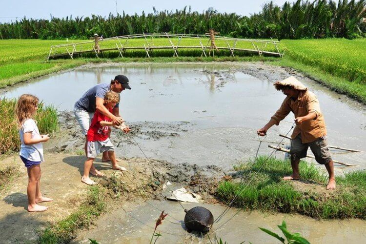 Experience to be a farmer in Hoi An