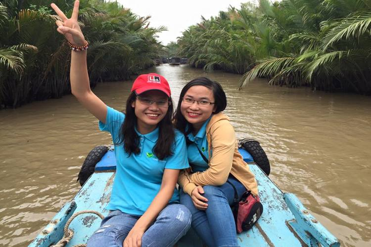 The best way traveling to Mekong Delta