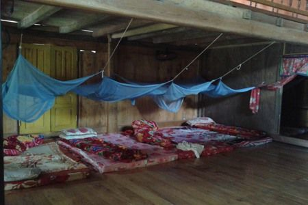 sleeping space homestay