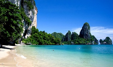 Railey Beach, Krabi