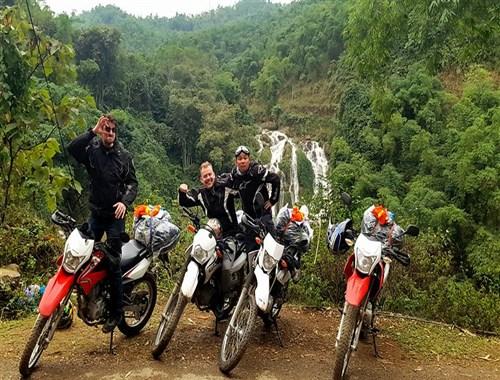 Motorbike Travelling In Vietnam
