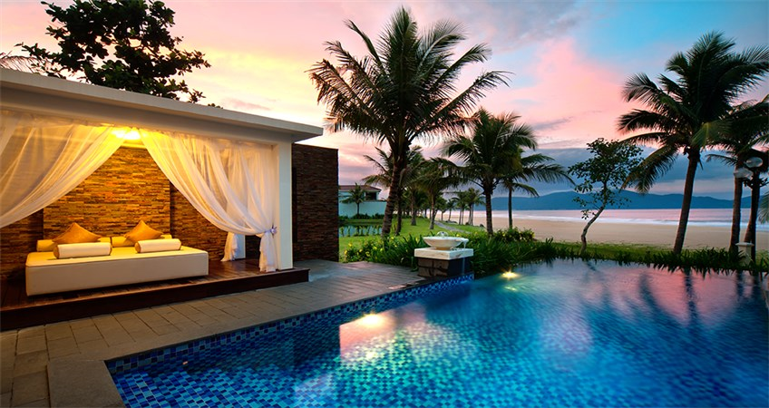 top beach resorts in danang