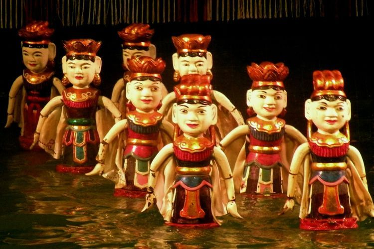 Vietnamese Water puppetry have been in Egypt