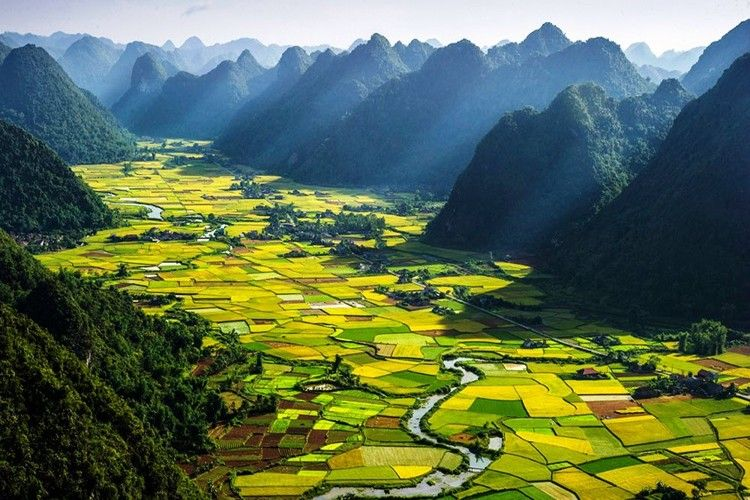 Lush Landscape And Captivating Cities In Vietnam