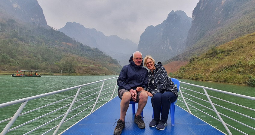 ha giang tour with lyn and barry