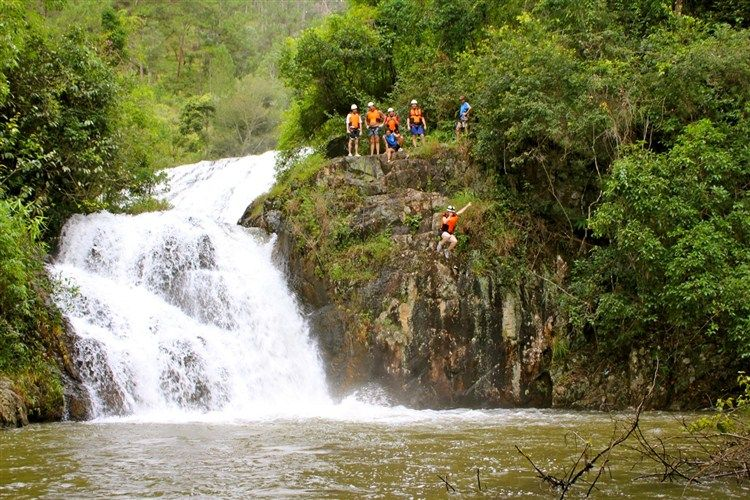 Adventure tours attract travellers in Da Lat