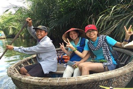 Basket boat tour in Hoi An
