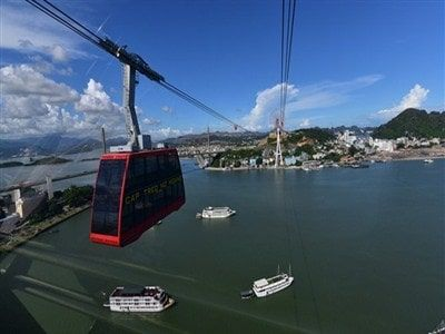 Discover Halong Bay by cable car this summer