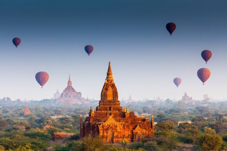 Myanmar - a country full of magnificent pagodas, ethnic cultures and beautiful beaches