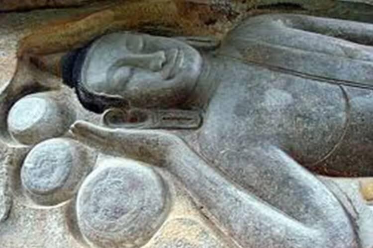 Preah Bat Chan Tuk or Buddha Statue