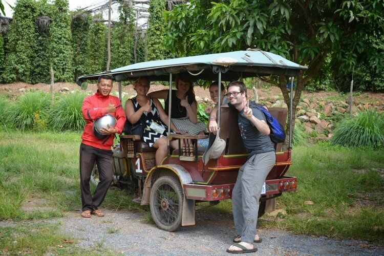 Take a tuk tuk tour of the countryside