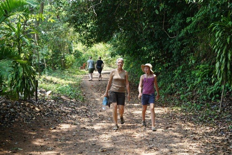 Trekking around Kep