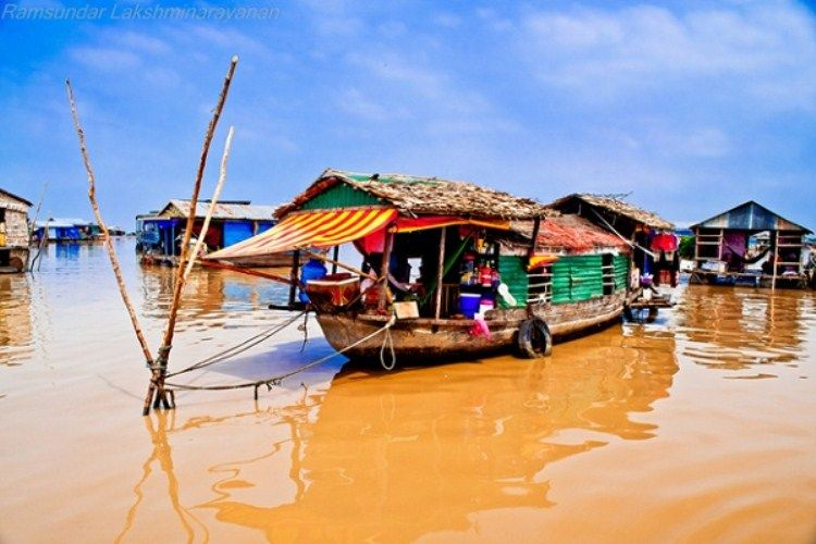 Floating Village of Lake Tonle Sap