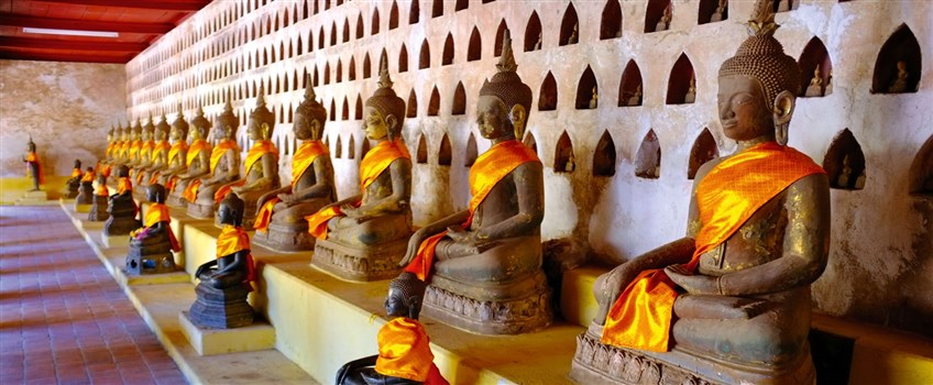 Wat Si Saket in laos