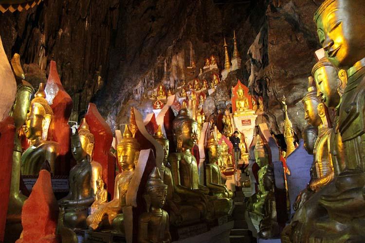 Shwe U Min cave