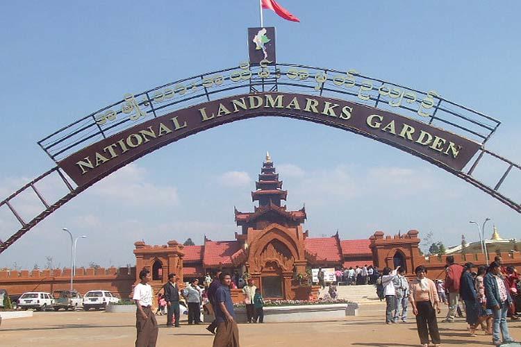 National Landmarks Garden Pyin Oo Lwin Myanmar