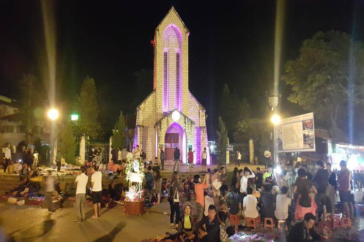 Sapa night market