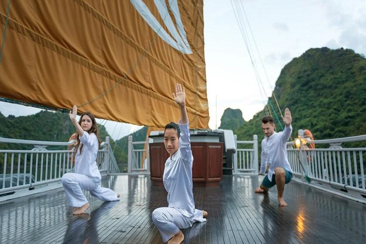 Learn Tai Chi on deck