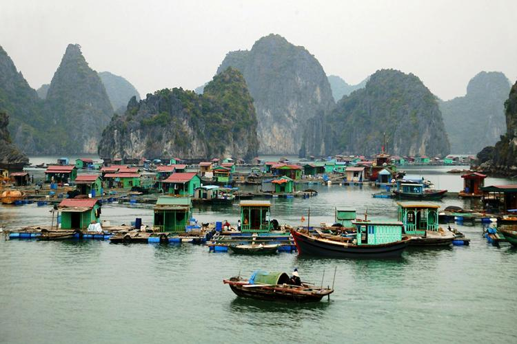 Viet Hai fishing village