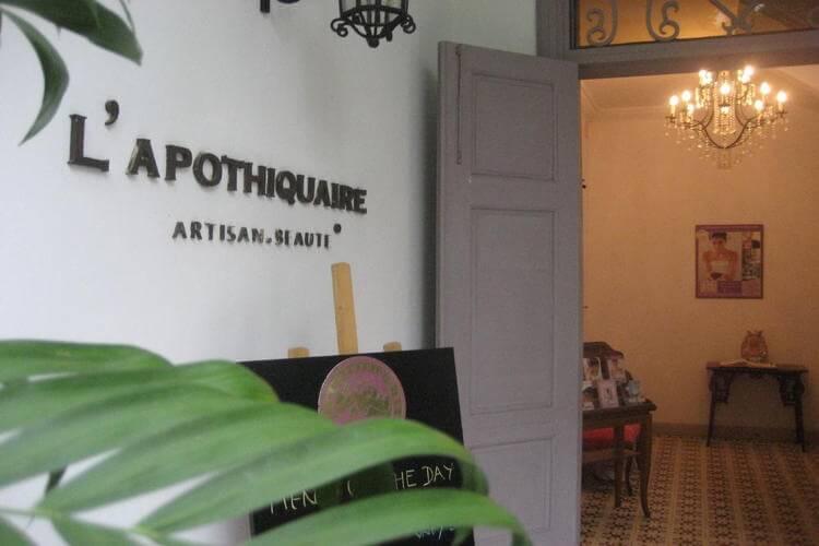 L'Apothiquaire Spa & Retreat in Sai Gon in Vietnam tour