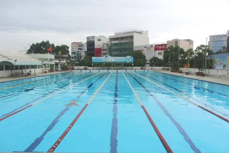 Sai Gon Swimming pools in Vietnam tour