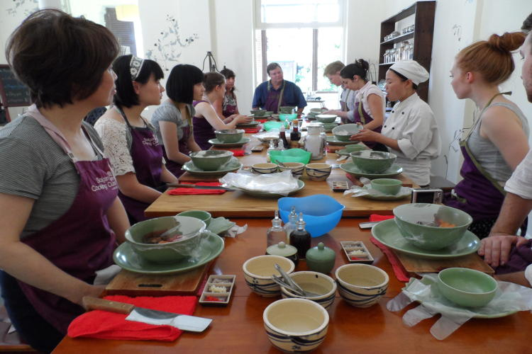 Try cooking classes in Vietnam holiday