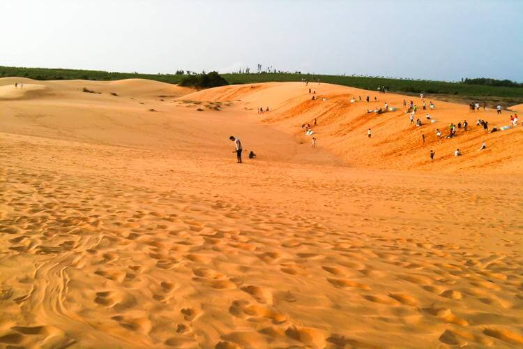 Visit the Red Sand Dunes of Mui Ne in Vietnam tour